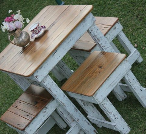 Signing table - rustic